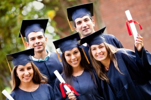 Group-of-graduate-students-holding-their-diploma-after-graduation