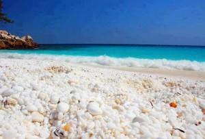 Тасос мраморный пляж
