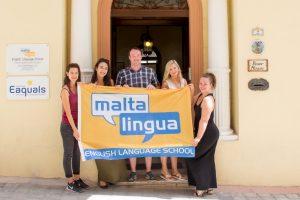 Наш коллектив на Мальте