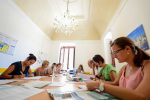 Урок английского на Мальте