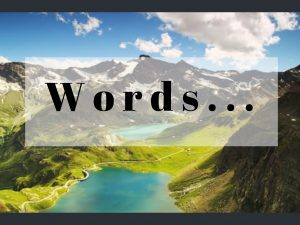 слова для путешествий