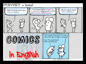 comics in English