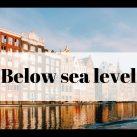 Города ниже уровня моря