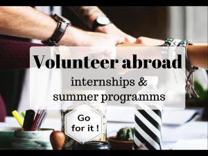 Оплачиваемые волонтерские программы и стажировки 2018