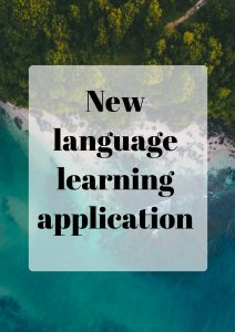 Language learning application