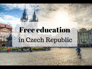 Free education in Prague