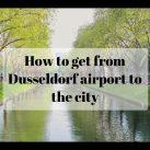 Как добраться из аэропорта Дюссельдорфа в центр города
