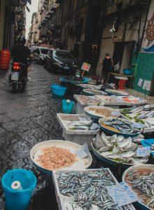 Морепродукты в Неаполе