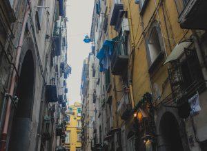 Прогулка по улицам Неаполя