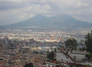 Везувий в Неаполе