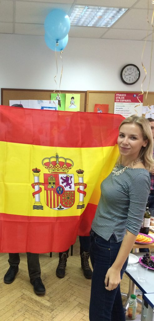 English teacher in Barcelona