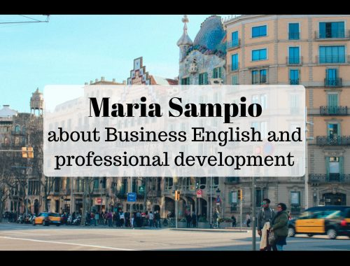 Interview about professional development
